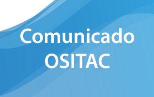 Aviso sobre OSITAC